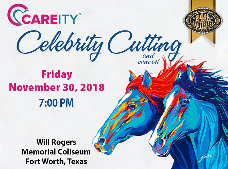 Careity Celebrity Cutting